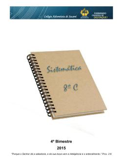 8º Ano C - Educação Adventista
