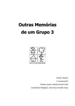 Outras Memórias de um Grupo 3