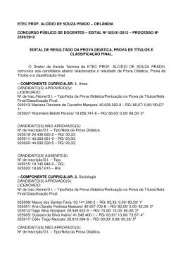 edital nº 025/01/2012 – processo nº 2