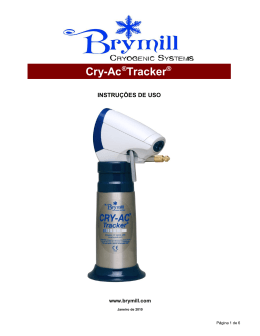 Cry-Ac®Tracker - Brymill Cryogenic Systems