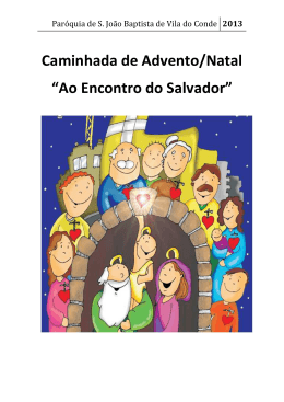 Ao encontro do Salvador - Paróquia de Vila do Conde