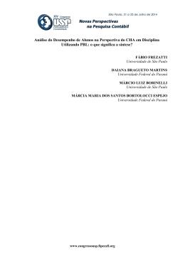Abrir Arquivo - Congresso USP de Controladoria e Contabilidade