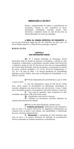 Resolução n°02 - 2014 - Câmara Municipal de Paranapuã