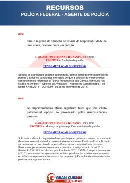 RECURSOS - Gran Cursos Online Blog – O portal do concurseiro