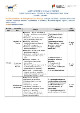 agrupamento de escolas de mértola curso vocacional de técnico de