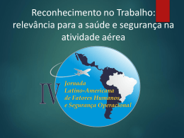 Lívia Cardoso Junqueira Botto Reconhecimento no Trabalho