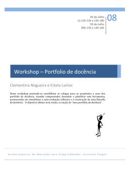 Workshop - Portfolio