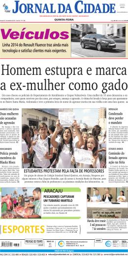 ARACAJu - Jornal da Cidade