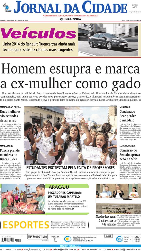 ARACAJu - Jornal da Cidade 4d1bb1a9109f7
