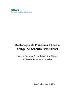 SUPERINTENDNCIA DE COORDENAO AMBIENTAL E DA