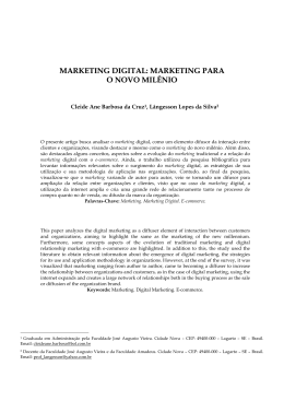 1. marketing digital: marketing para o novo milênio