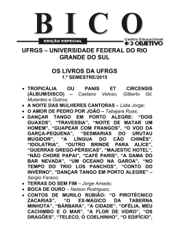 UFRGS – UNIVERSIDADE FEDERAL DO RIO