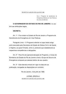 Decreto Estadual Nº 09053
