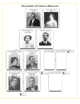Descendants of Francisco Bittencourt