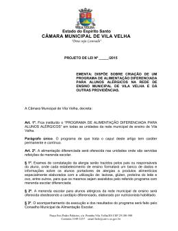 CÂMARA MUNICIPAL DE VILA VELHA