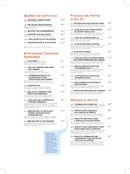 CARPE DIEM 104 | ALTERACOES NO CARDAPIO | 2220A | v.8