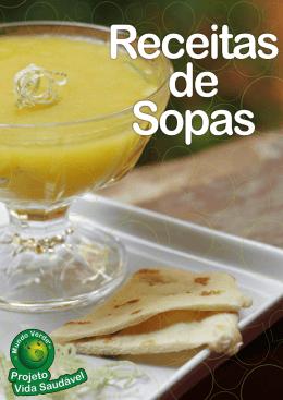 Receitas de Sopas Rede Mundo Verde – Ano 1 – Livro 2