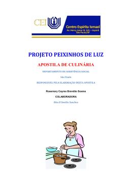 Curso de Culinária em PDF
