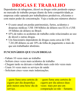 drogas_e_trabalho - Academia Calasans Camargo