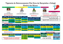 Vigararia do Entroncamento,Vila Nova da Barquinha e Golegã