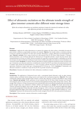 Effect of ultrasonic excitation on the ultimate tensile strength of glass