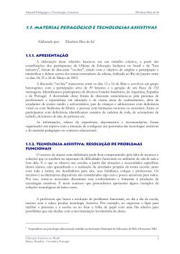 Relatório em formato PDF