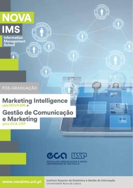 Marketing Intelligence e Marketing Gestão de Comunicação