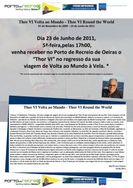 Thor VI Round the World - Associação Nacional de Cruzeiros