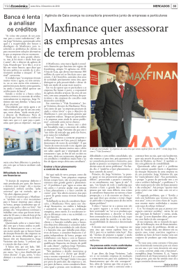 Ler noticia - MAXFINANCE