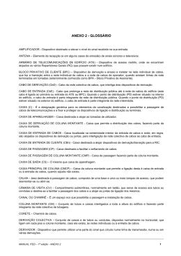 Anexo 2 - glossário