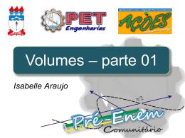Volumes 1 - Universidade Federal de Alagoas