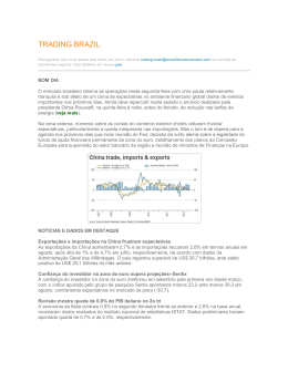TRADING BRAZIL - Thomson Reuters