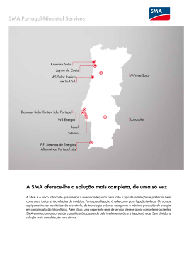SMA Portugal-Niestetal Services