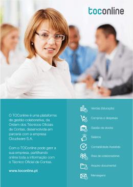 O TOConline é uma plataforma de gestão colaborativa, da Ordem