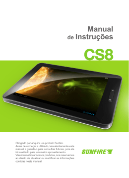 Manual Tablet CS8
