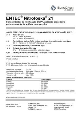 Ficha técnicas - EuroChem Agro