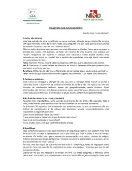 DICAS PARA DAR AULAS MELHORES Brasílio Neto / Julio