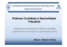 ganho - Instituto Brasileiro de Direito Tributário