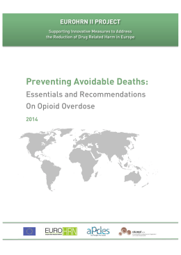 Preventing Avoidable Deaths: - European Harm Reduction Network