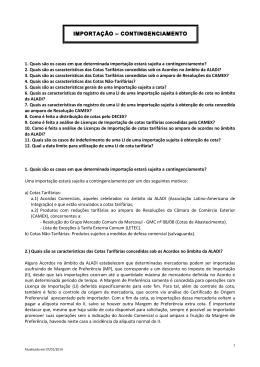 Cotas - Versão para impressão - Ministério do Desenvolvimento