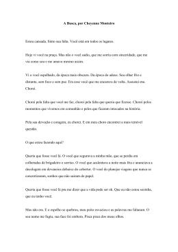 A Busca, por Cheyenne Monteiro Tamanho:6.64 KB