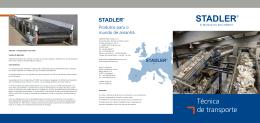 Técnica de transporte - Stadler Anlagenbau GmbH