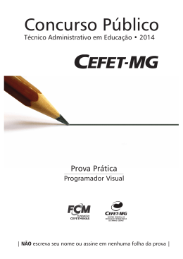 Programador Visual - cefet-mg