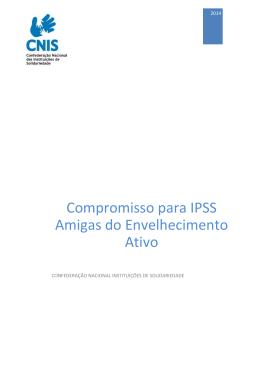 Manifesto CNIS-IPSS Amigas do Envelhecimento Ativo