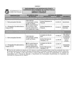 1 – Remunerações Devidas Valor total da remuneração contida na