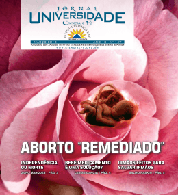 EDIÇÃO 149 MAIO de 2012 - Instituto Ciência e Fé