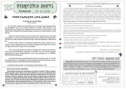 Edição ANO 1 - VOL16 - 24/MAI 2009