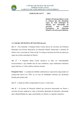 CÂMARA MUNICIPAL DE MACEIÓ PODER LEGISLATIVO