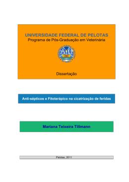 UNIVERSIDADE FEDERAL DE PELOTAS - Guaiaca
