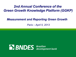 Vânia Maria da Costa Borgerth - Green Growth Knowledge Platform